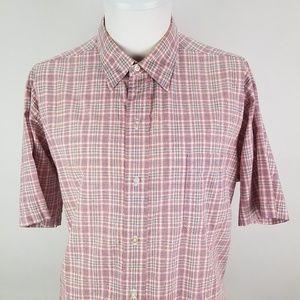 Vintage Men's Brooks Brothers Short Sleeve Shirt